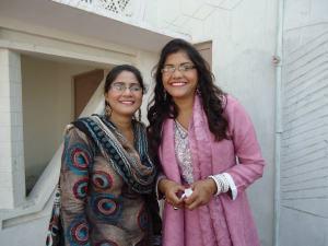 Kanwal and Kiran