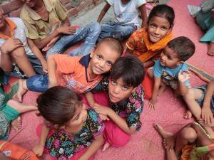 children at an orphanage in Pakistan